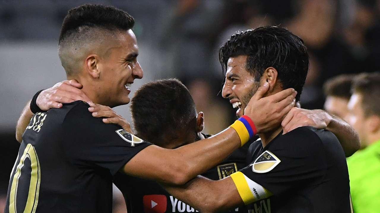 LAFC celebrate 2019
