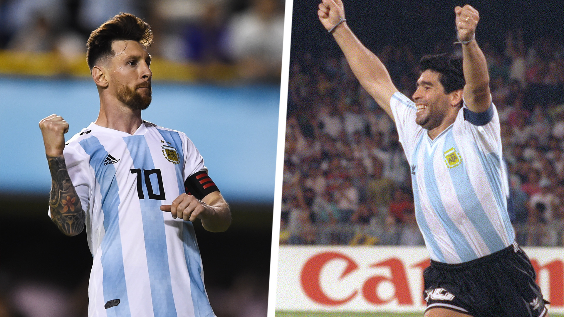 All That Separates Messi Maradona Is Height Suker Cannot Compare Argentina Legends Goal Com