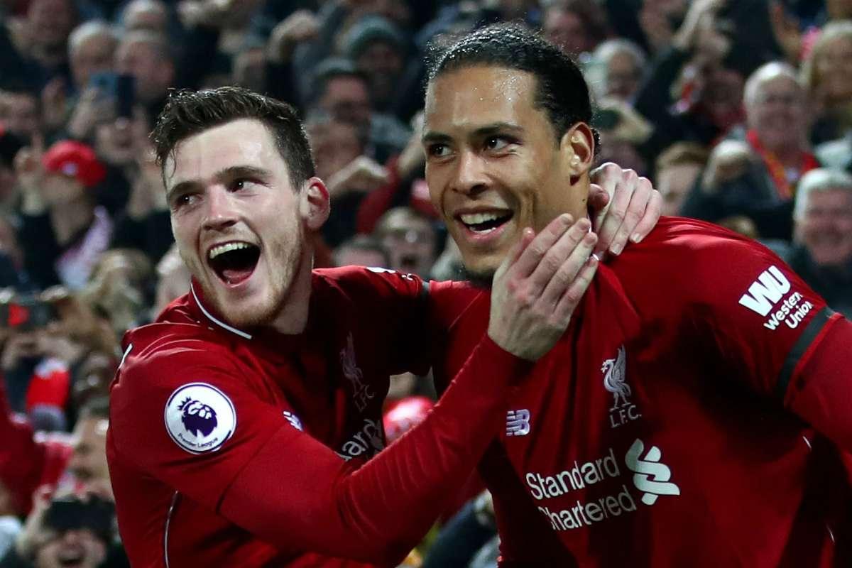 I had Van Dijk in my back pocket all game! – Robertson | Goal.com