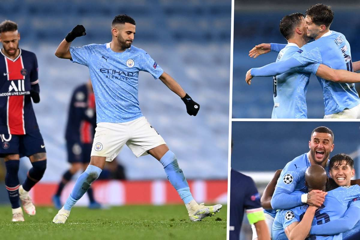 History awaits! Dias & Mahrez propel Man City past PSG into first ever Champions  League final