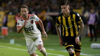 Everton Ribeiro Brian Rodriguez Flamingo Penarol Copa Libertadores 2019