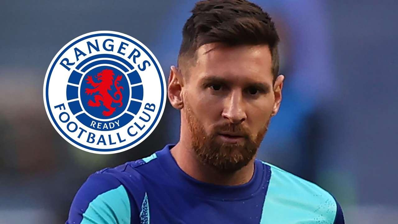 Lionel Messi Barcelona Rangers