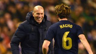 Zidane Nacho Real Madrid