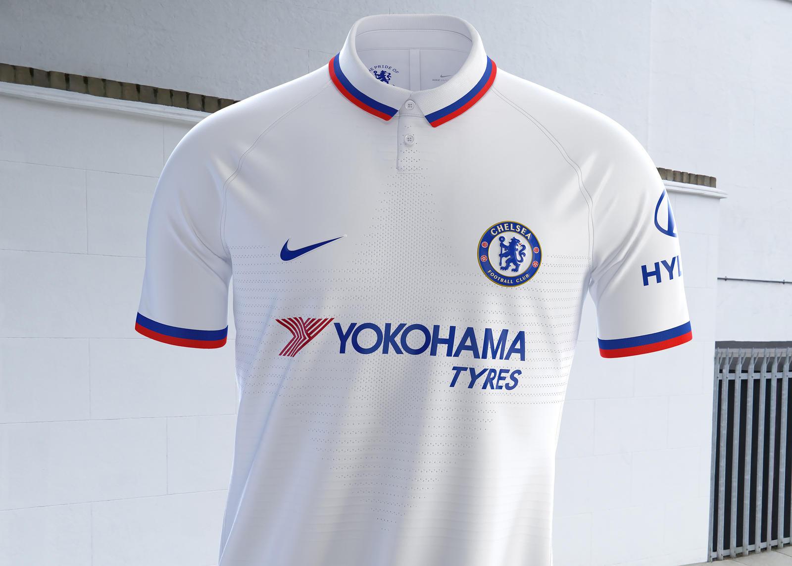 Premier League Chelsea dévoile son maillot extérieur pour