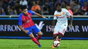 K. Sarkunan, Johor Darul Ta'zim v Selangor, Malaysia Super League, 19 Jun 2019