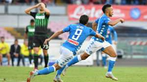 Simone Verdi Adam Ounas Napoli Sassuolo Serie A