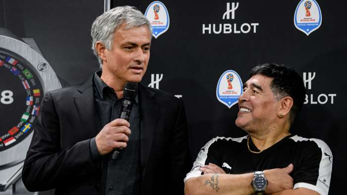 Jose Mourinho/Diego Maradona