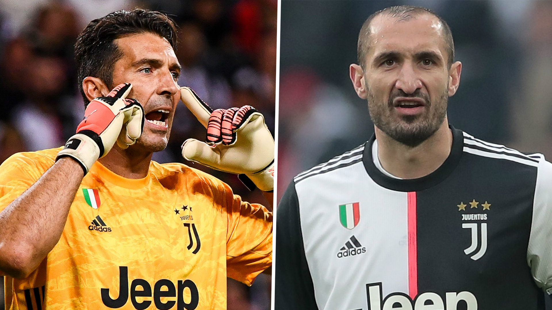 Juventus extend Buffon Chiellini contracts for one more year