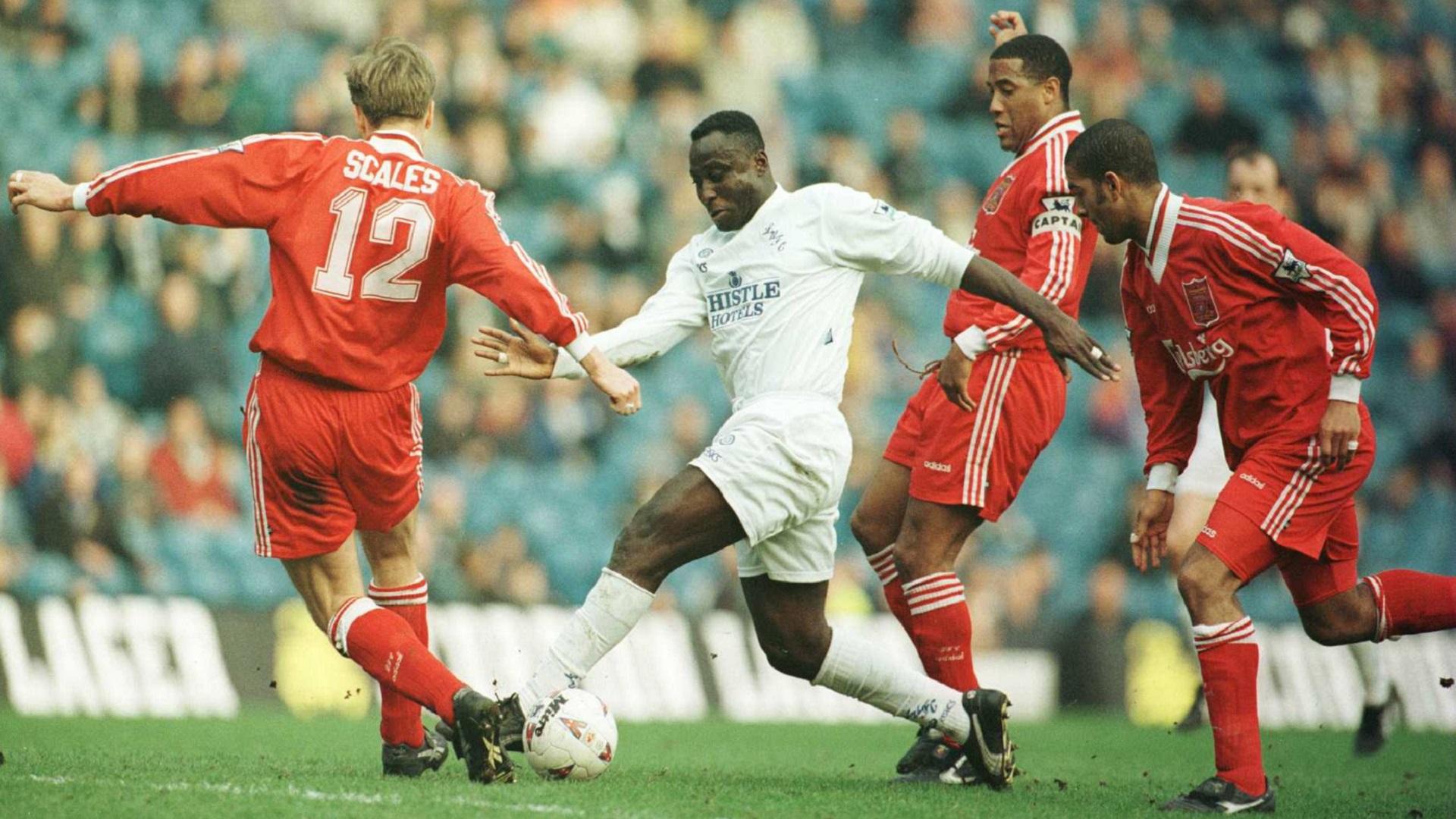 Bamford joins Ghana legend Tony Yeboah on coveted Leeds United list
