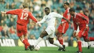 Tony Yeboah (Leeds) vs Liverpool  FA Cup Quarter Final, 1996