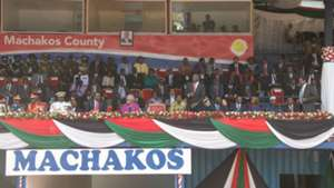 Machakos Stadium banned.