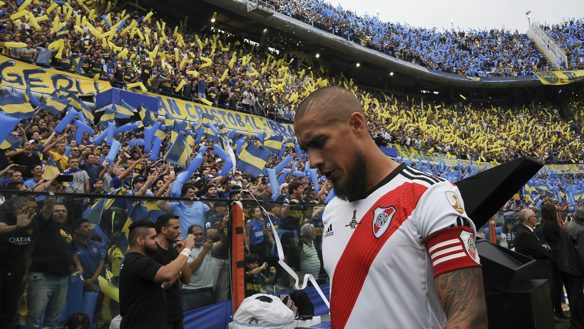 Jonatan Maidana Boca River Copa Libertadores 11112018