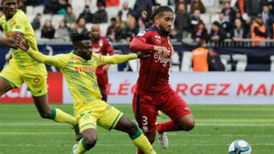 Pablo Nascimento Castro and Moses Simon - Bordeaux vs Nantes