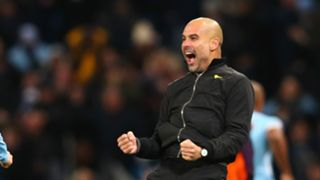 Pep Guardiola Manchester City 29112017
