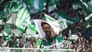 Werder Bremen Fans Fahnen