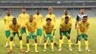 Bafana Bafana vs Uganda starting XI June 2021