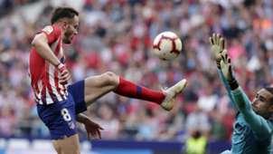 Saúl y Asenjo, Atlético de Madrid-Villarreal
