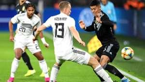 Klostermann Marcos Rojo Germany Argentina international friendly 09102019