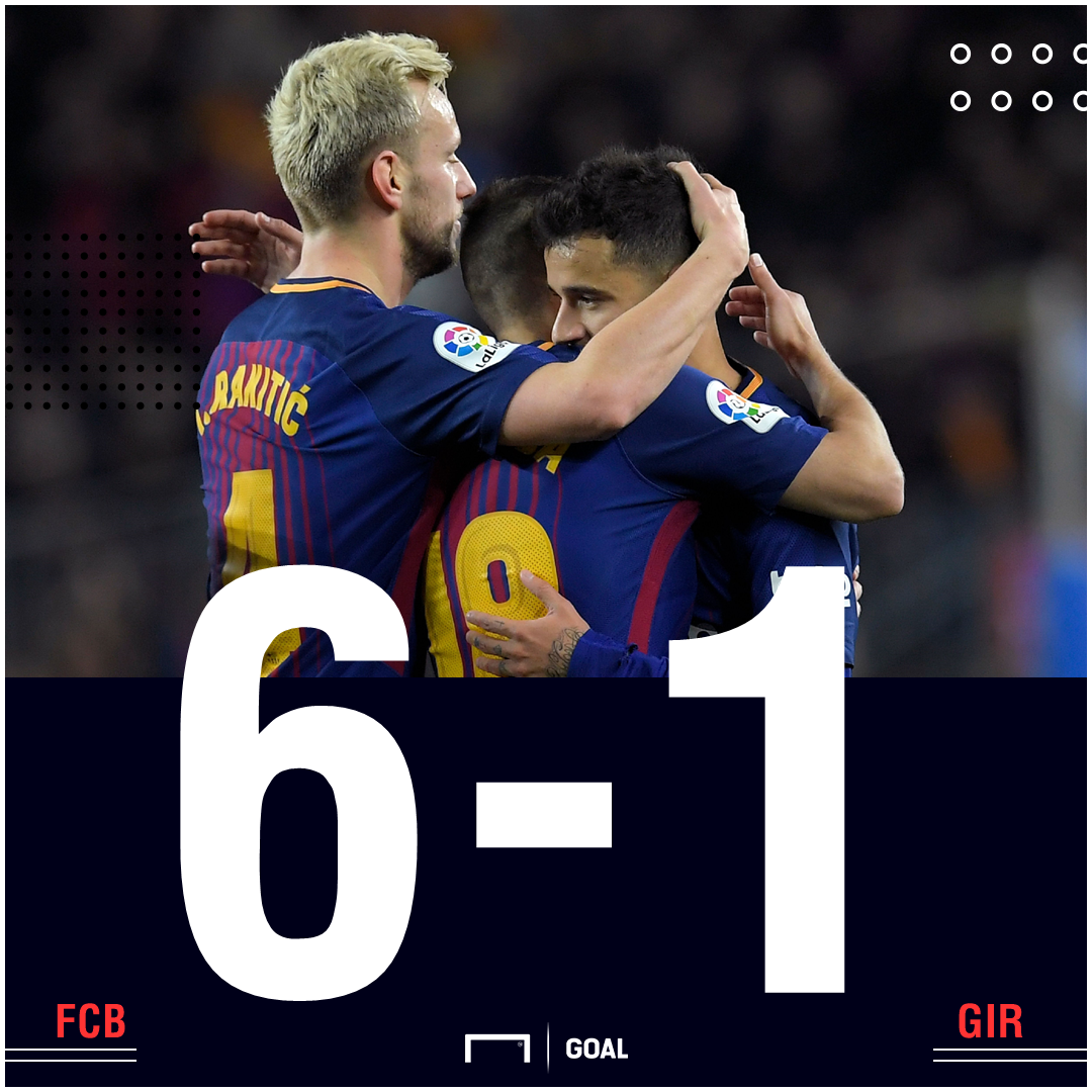 Barca Girona score