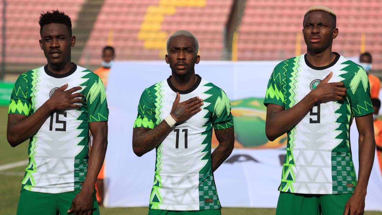 Zaidu Sanusi, Victor Osimhen, Henry Onyekuru - Nigeria/ Super Eagles