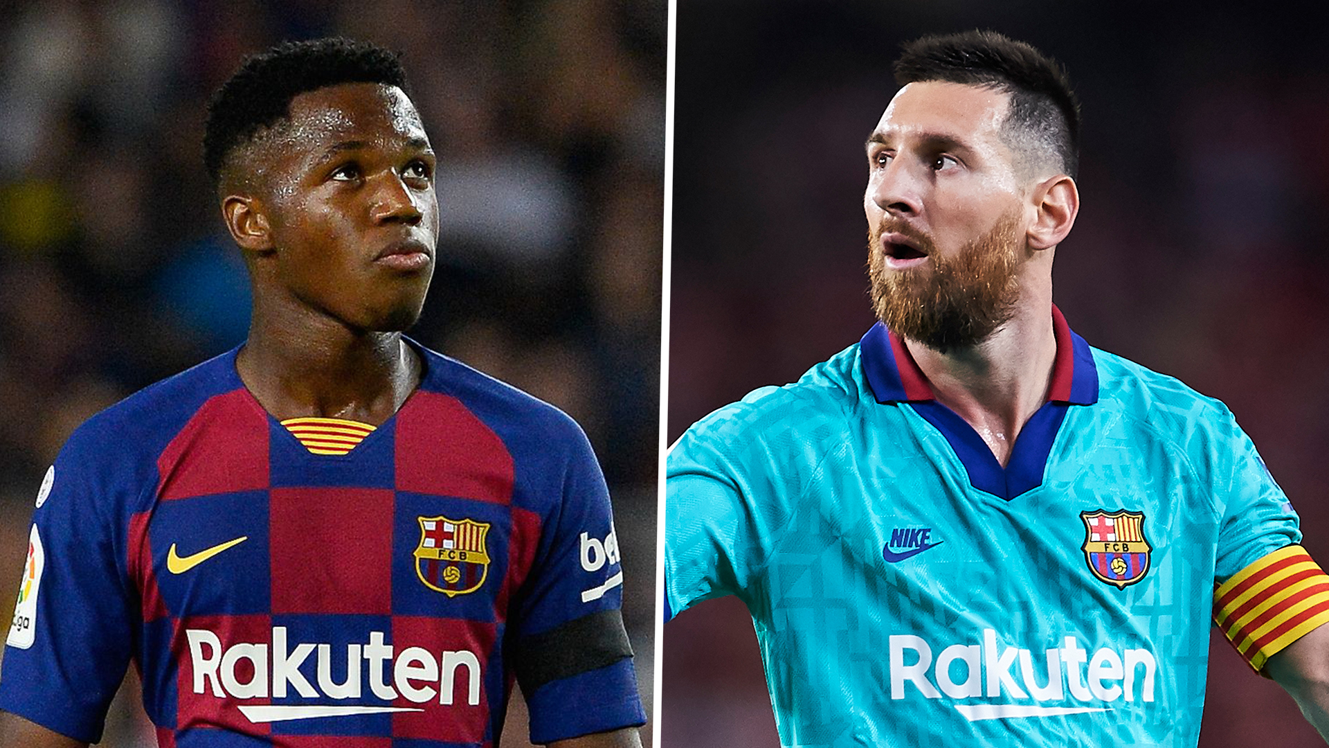 Barcelona News Lionel Messi Reveals He Was Wowed By Barcelona Teen Sensation Fati In First Training Session Goal Com