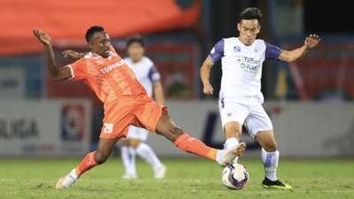 Dinh Hoang Max Ha Noi FC vs Binh Dinh FC 2021 V.League