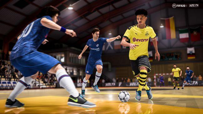 Jadon Sancho FIFA 20 Volta