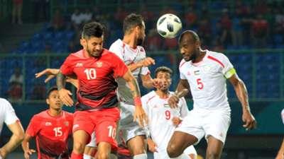 Stefano Lilipaly & Abdallatif Albahdari - Indonesia vs Palestina