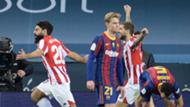 barcelona athletic bilbao supercopa frenkie de jong asier villalibre