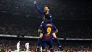 Lionel Messi Luis Suarez Barcelona 2018-19