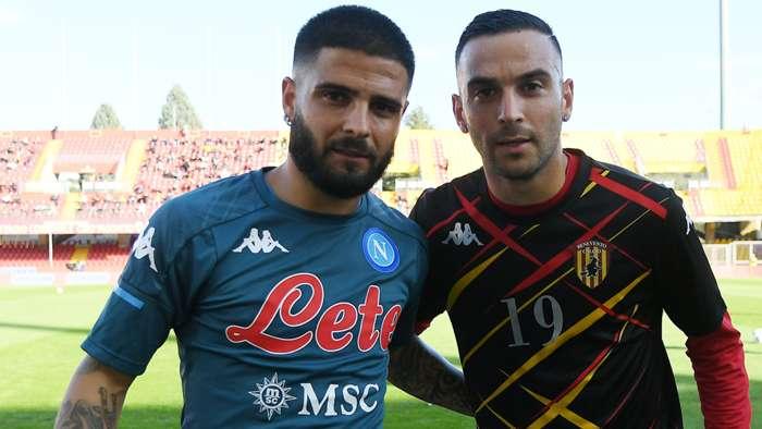 Lorenzo Insigne Roberto Insigne Benevento Napoli Serie A