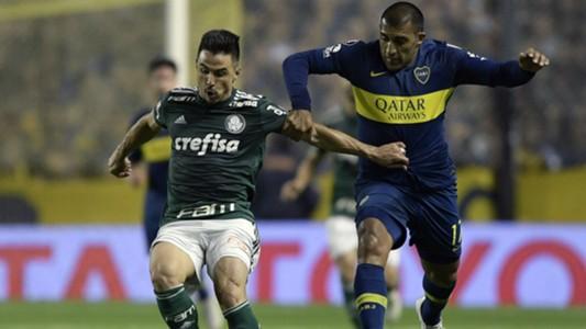 Willian Abila Boca Palmeiras Copa Libertadores Semifinal Ida 24102018