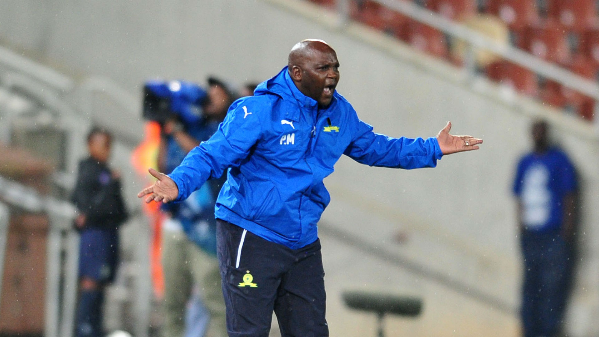 If you're ill-disciplined then you cannot play at Mamelodi Sundowns - Mosimane on Rantie's departure
