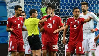 Iran Spain VAR World Cup