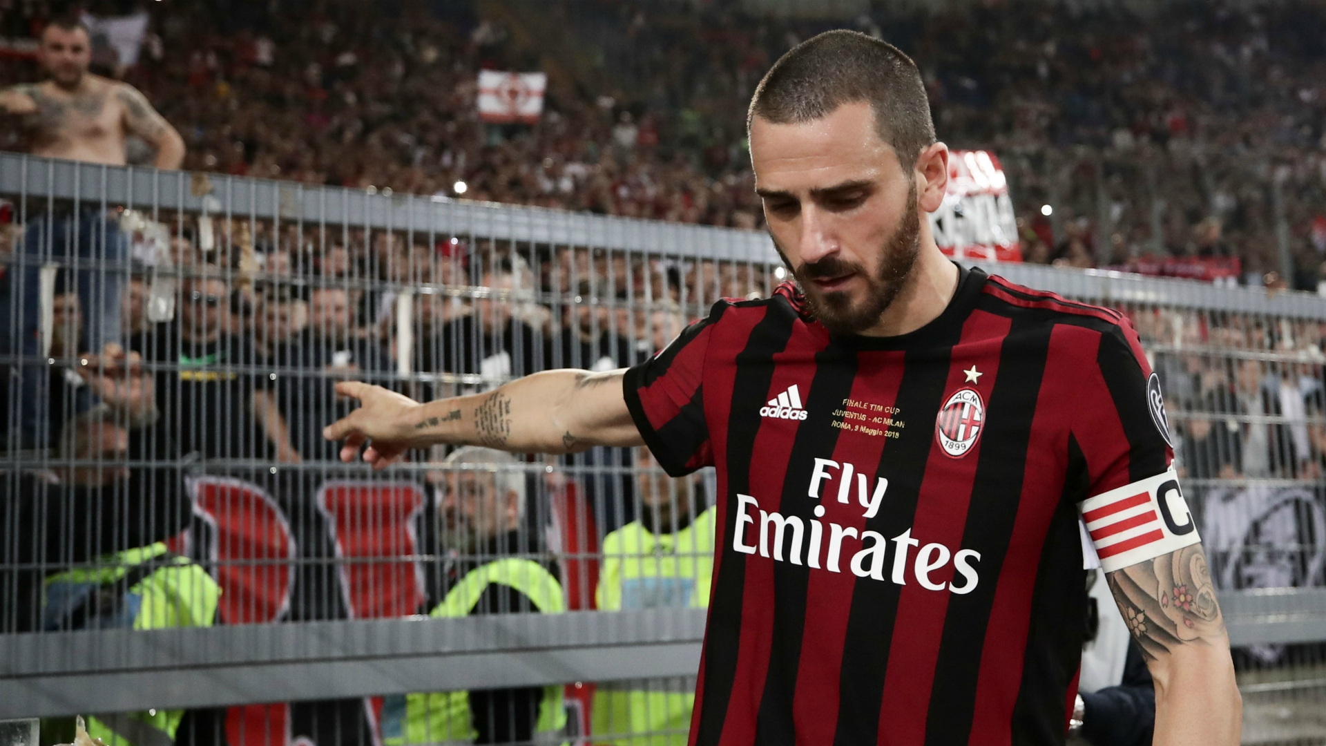 AC Milan Transfer News: Leonardo Bonucci looking to rejoin ...