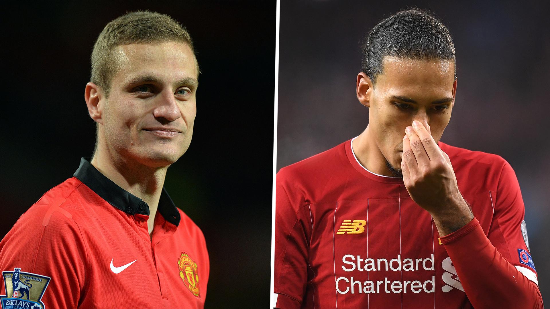 'He covered my back' - Ferdinand admits he would pick prime Vidic over Van Dijk