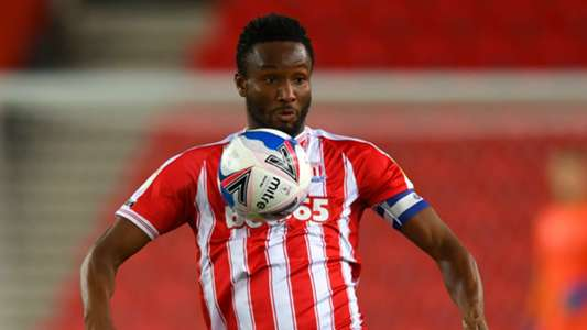 Stoke City sweating on Mikel's fitness ahead of Wycombe Wanderers trip - Goal.com