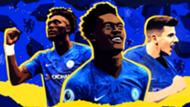 Chelsea Youth FA Cup GFX Tammy Abraham Callum Hudson-Odoi Mason Mount