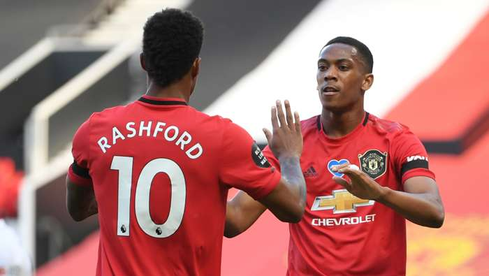 Rashford Martial Manchester United