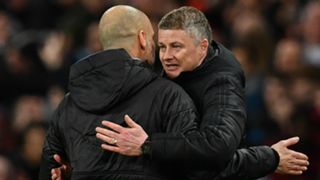 Ole Gunnar Solskjaer Pep Guardiola Manchester City  Manchester United 2019-20