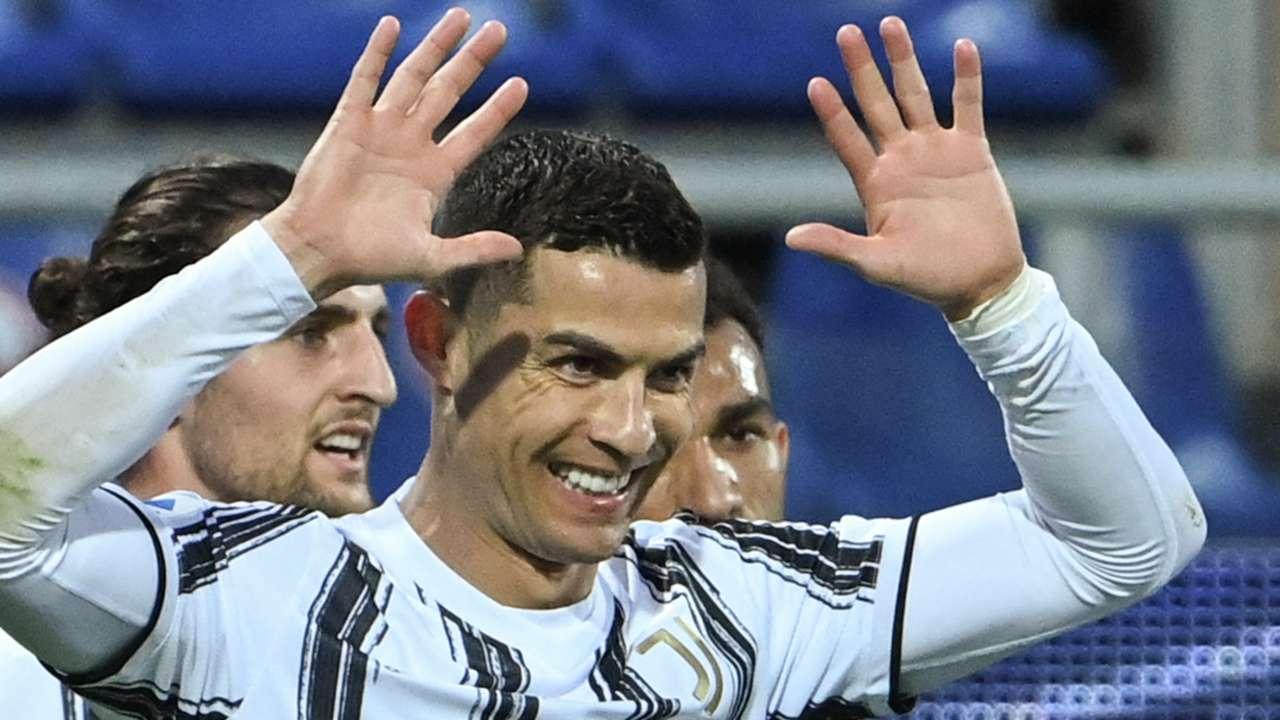 Cristiano Ronaldo Cagliari Juventus Serie A