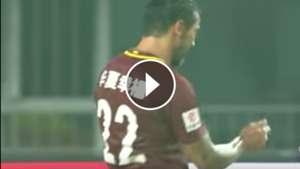 Ezequiel Lavezzi Goal Hebei CFFC Yanbian Funde 050817
