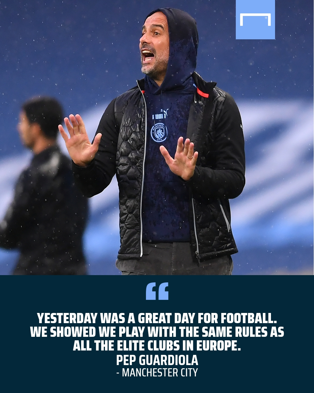 Man City boss Guardiola: I'd stay if we were in League Two!