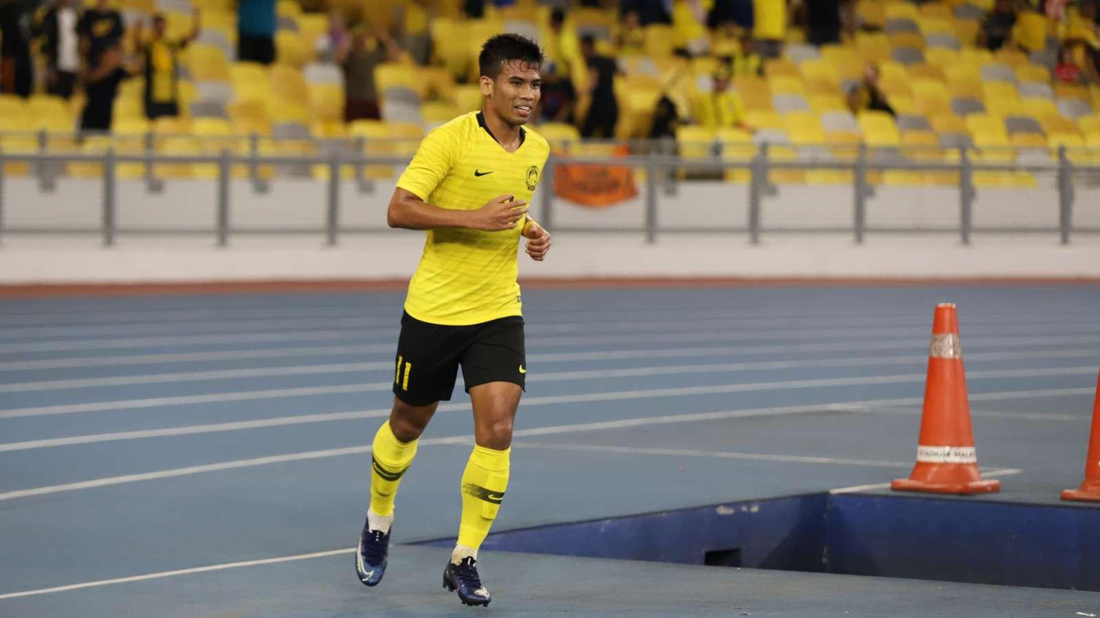 Safawi Rasid, Malaysia v Tajikistan, International Friendly, 9 Nov 2019