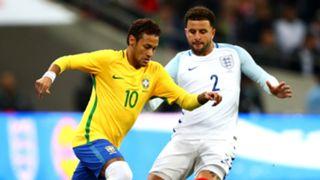 Neymar, Kyle Walker