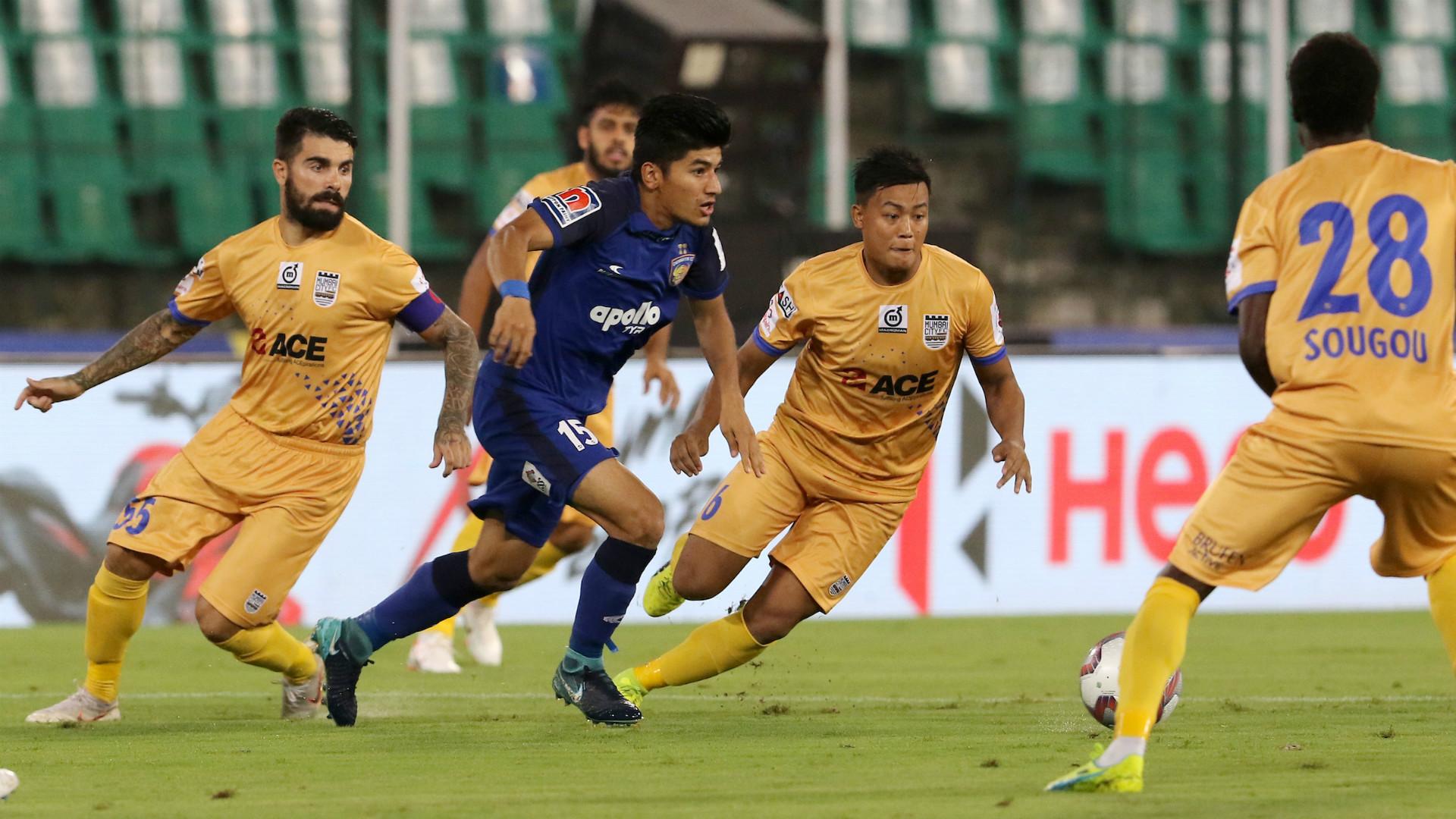 Anirudh Thapa Chennaiyin FC Mumbai City FC ISL 5