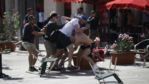 English Russia violence in Marseille