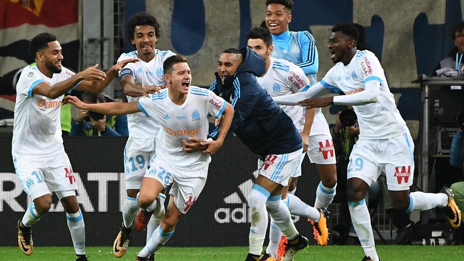 Florian Thauvin Marseille PSG Ligue 1 22102017