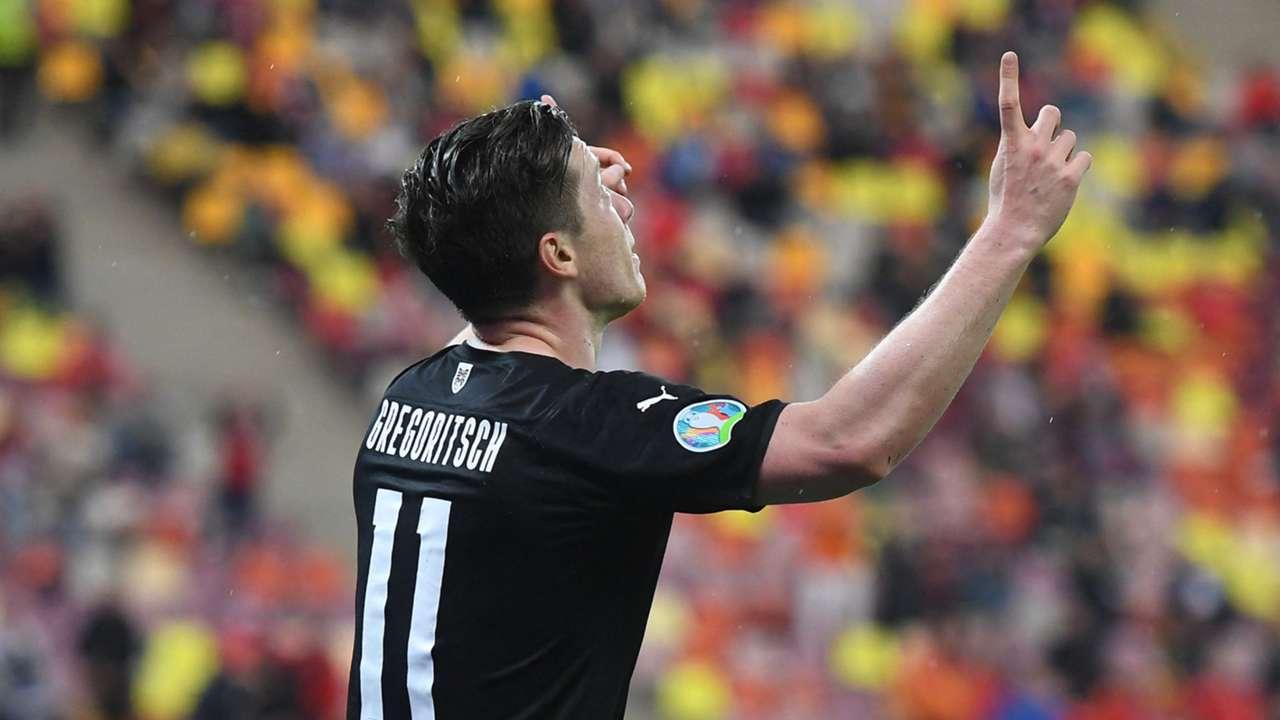 Michael Gregoritsch Austria vs North Macedonia Euro 2020