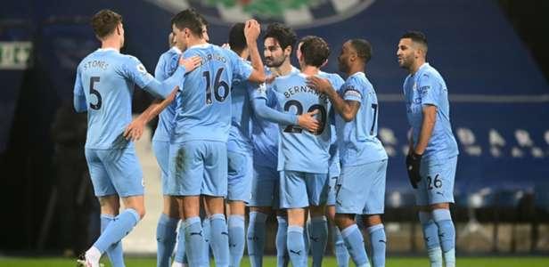 Kết quả West Brom 0-5 Man City: Đòi lại ngôi đầu bảng